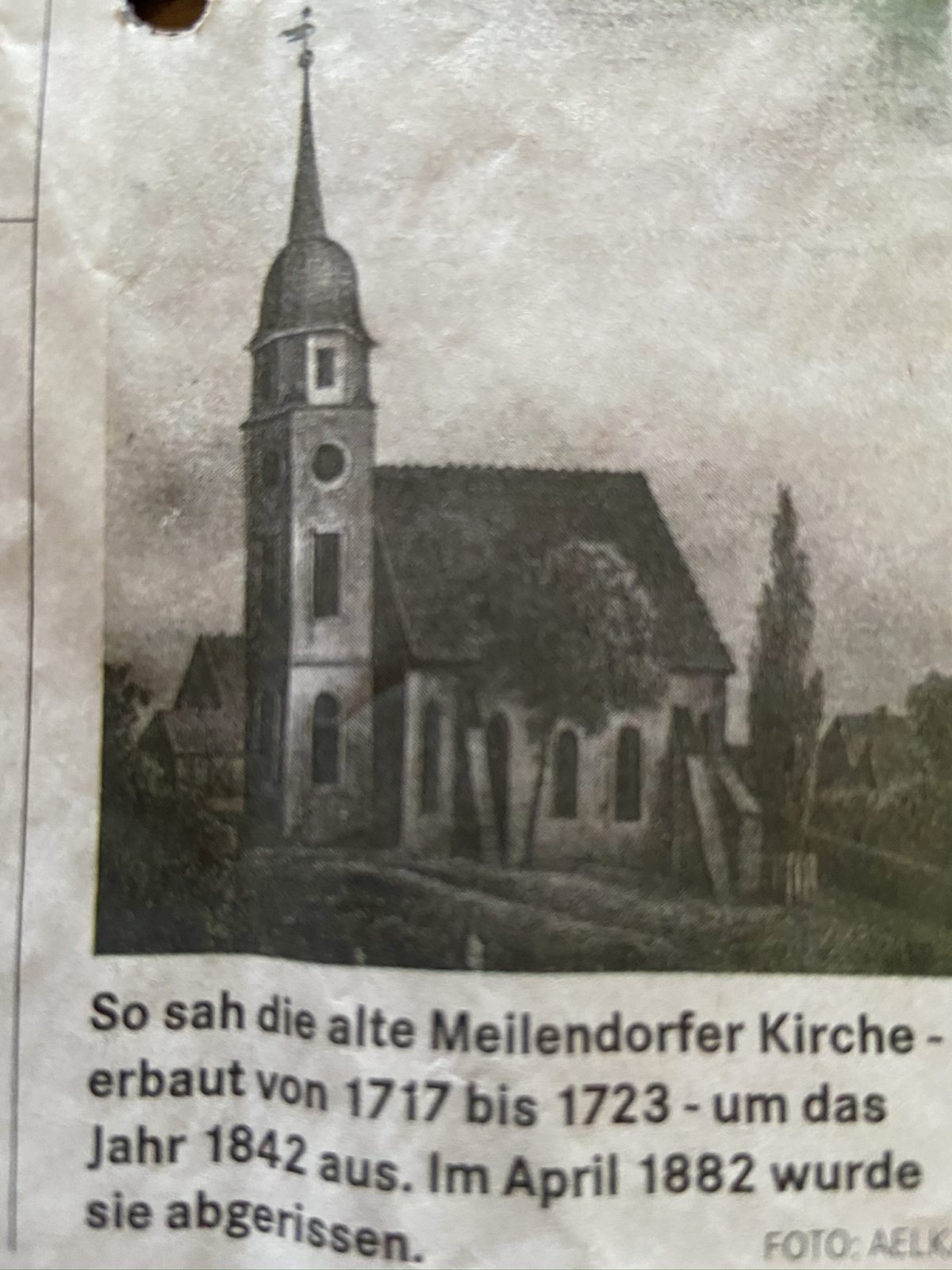 Die Kirche zu Meilendorf