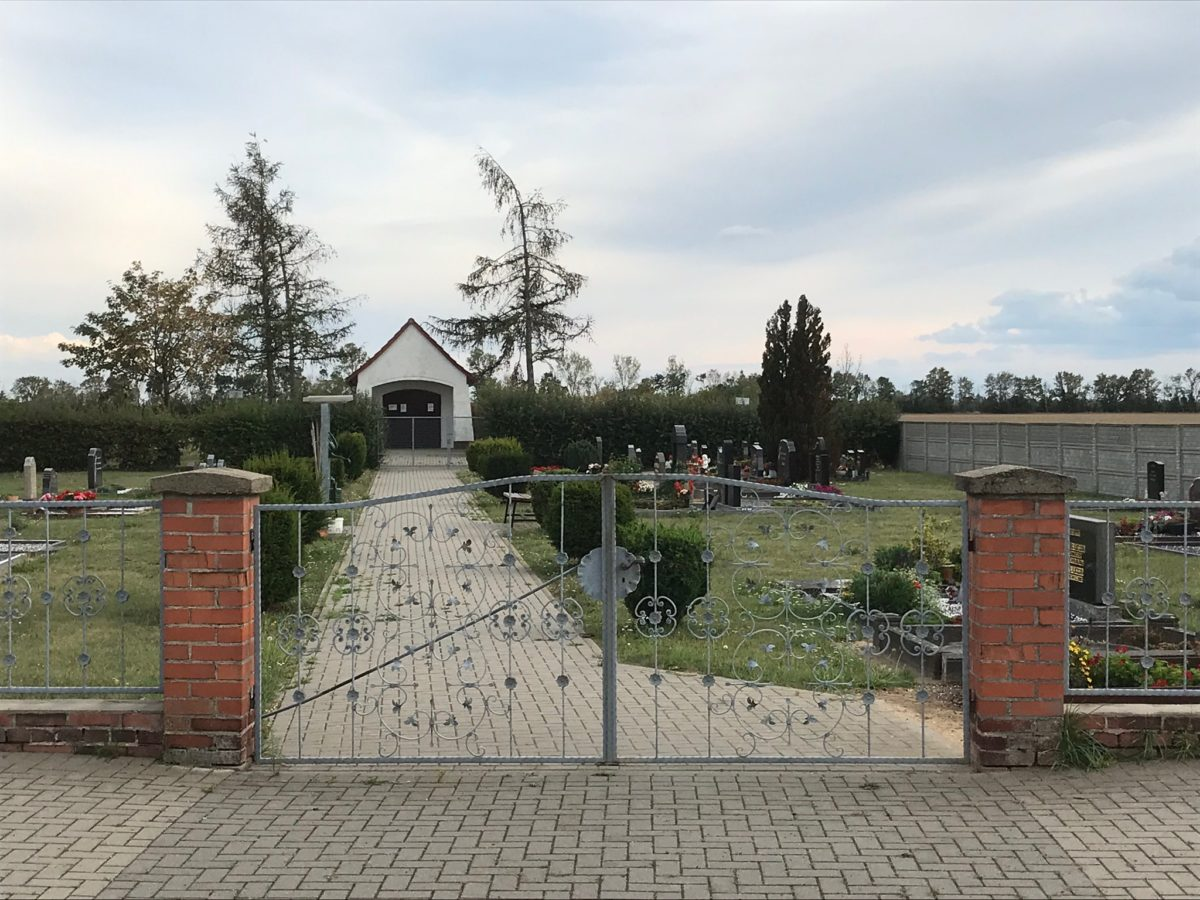 Der Friedhof von Fraßdorf